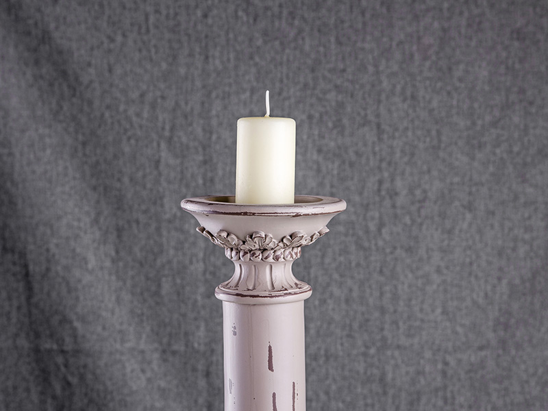 resin candle holder